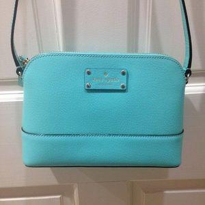 HP🎉 Kate Spade Blue Crossbody Purse Bag
